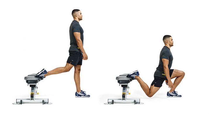 bulgarian split squats